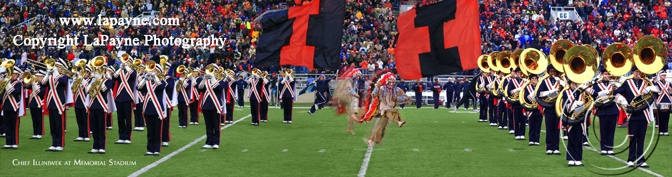 Chief Illiniwek at Memorial