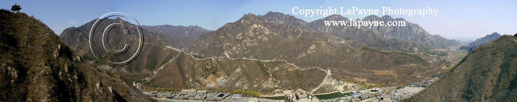 Great Wall of China Panorama