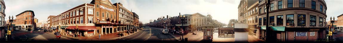 Harvard Square Panorama