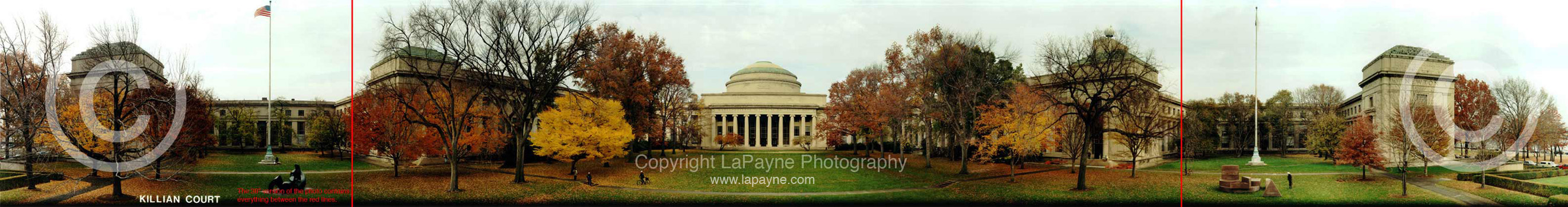 MIT Killian Court Panoramic