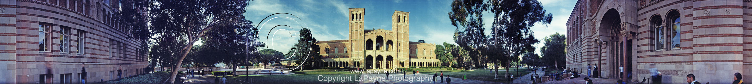 Royce Hall UCLA Panorama