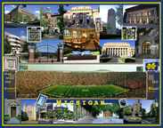 Michigan Campus Composite