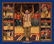 Chief Illiniwek Composite Photograph