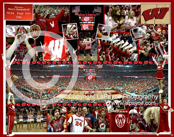 Wisconsin Men's Basketball Composite