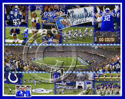 Indianapolis Colts at the Dome composite photo