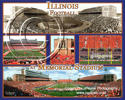 Illinois Football @ Memorial Stadium
