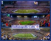 Indianapolis Colts Triple Composite with RCA Dome
