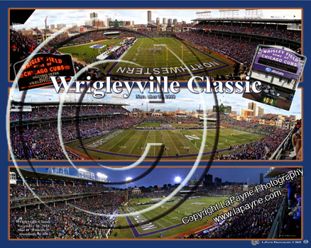 Wrigleyville Classic - Football Triple Composite