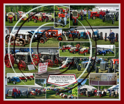 2017 Ford/Fordson Collectors Association Composite