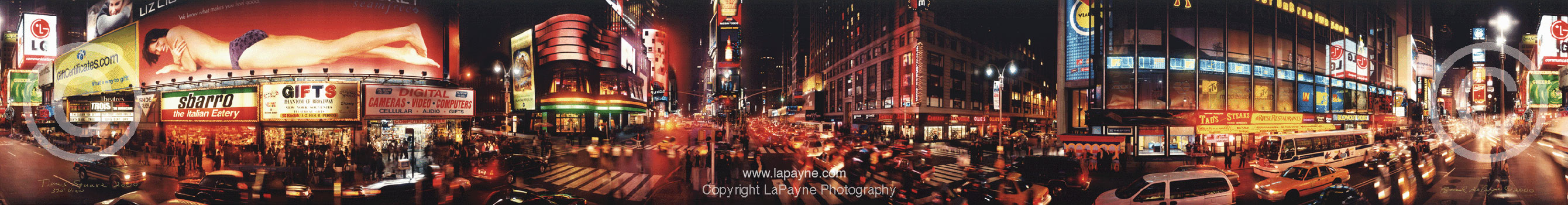Times Square Panoramic Image2000