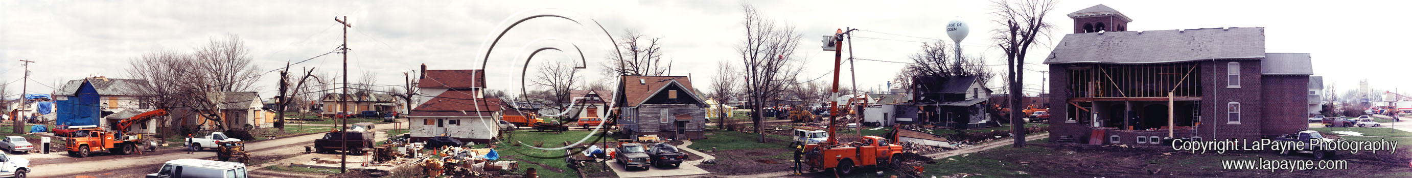 Ogden Illinois Tornado Aftermath
