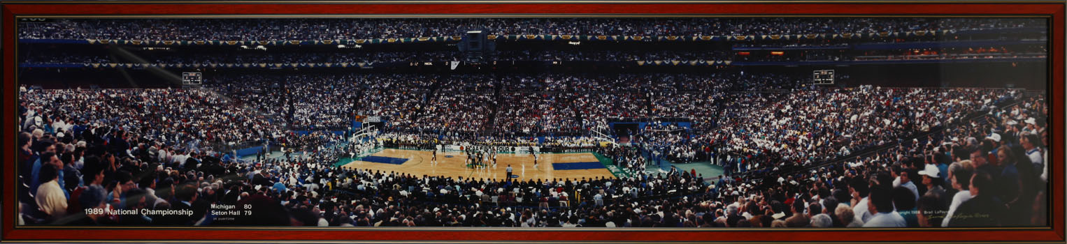 1989 National Championship Game - Tipoff