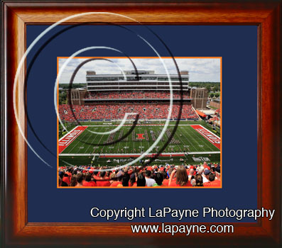 U of I Band at Memorial Stadium 2008
