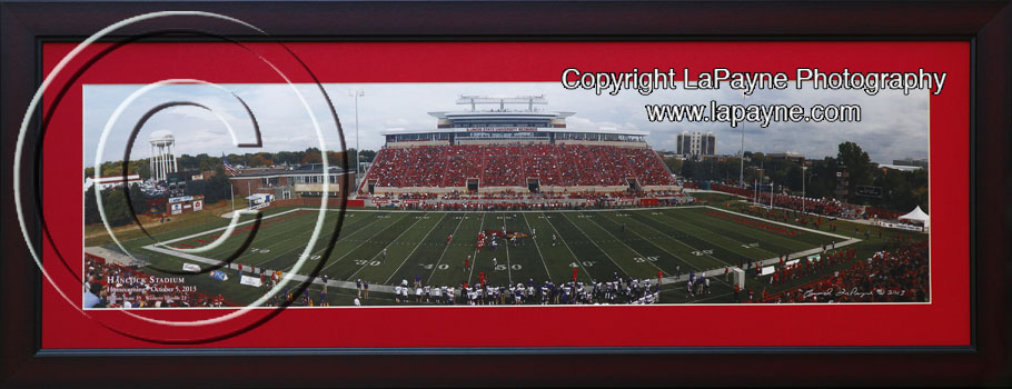 Illinois State Red Mat Cherry Frame