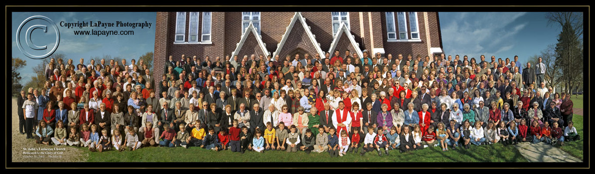 St. John's Luthern Church Group Photo