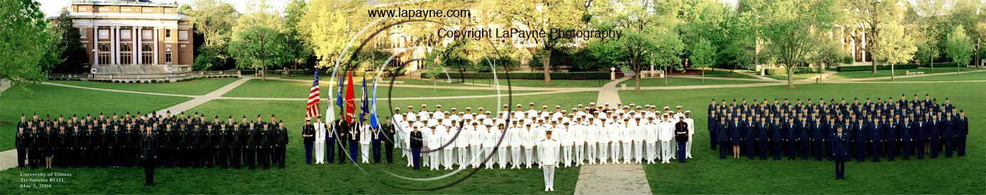 Illinois ROTC 2004 Panorama