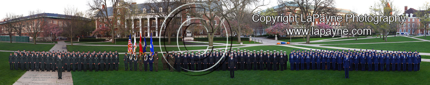 Illinois ROTC 2011 Panorama