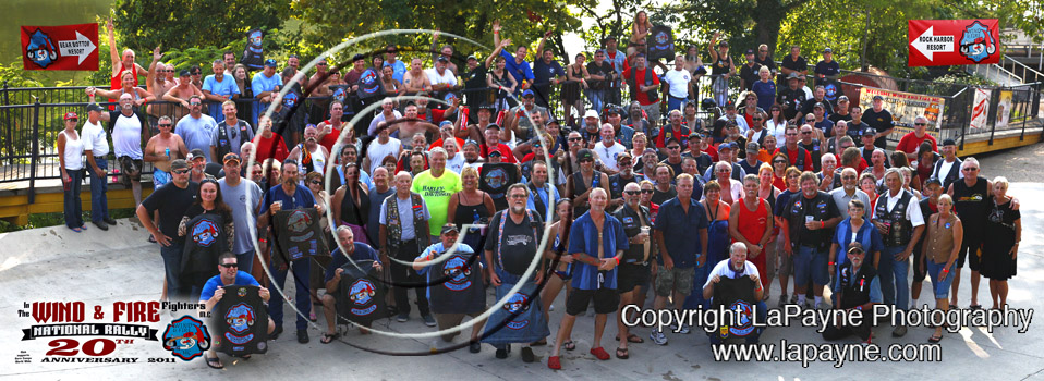Wind & Fire National Rally 2011 - Group shot