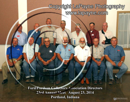 Ford/Fordson Collectors Association Directors - 2013