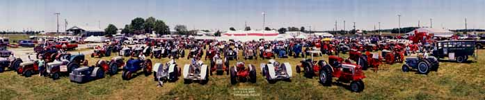 Ford/Fordson Tractor Show Panorama 2000