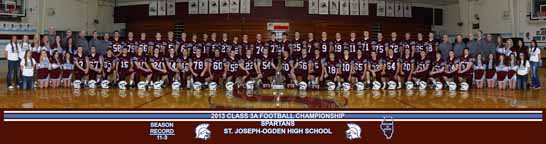 St. Joseph, Illinois Football 2013