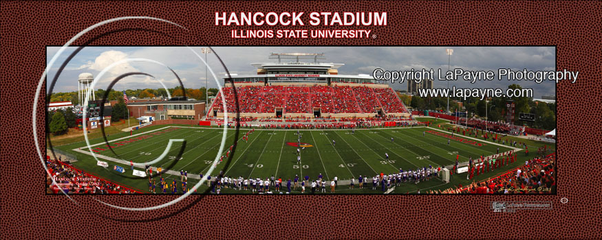 Hancock Stadium 2013 Kickoff | bordered print #111
