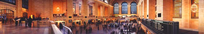 "Grand Central, ""The Grand Concourse"" Panorama"