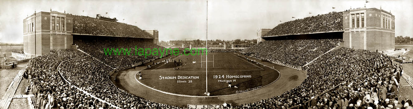Memorial Stadium 1924 Dedication & Homecoming