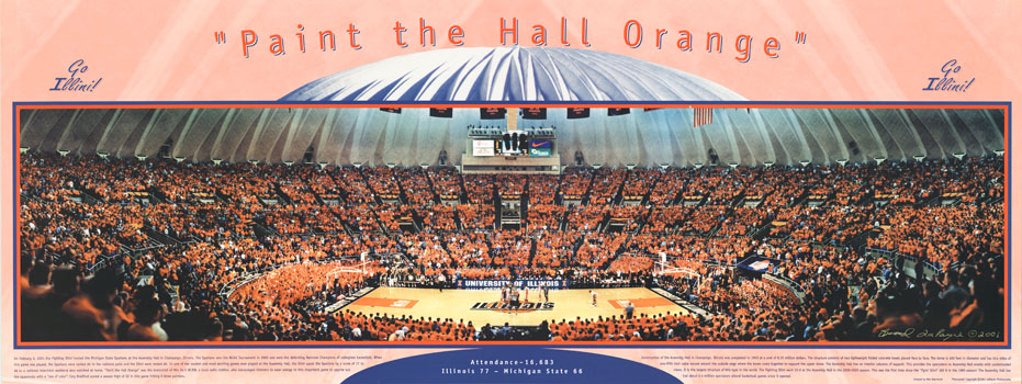 Paint The Hall Orange 2001 Poster