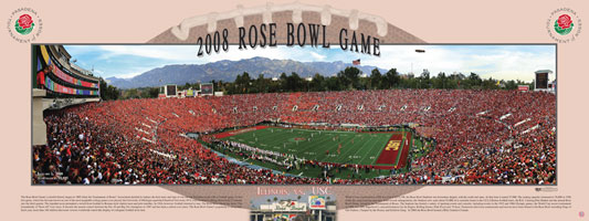 Rose Bowl 2008 Kickoff poster