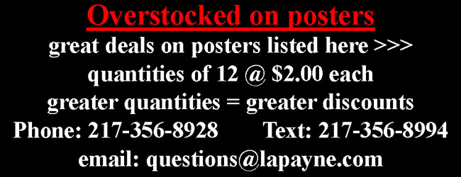 Quantity Discounts on select posters