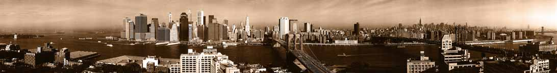 New York 2001 - Sepia