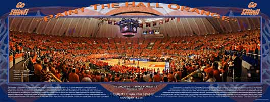 Paint The Hall Orange Poster December 1, 2004