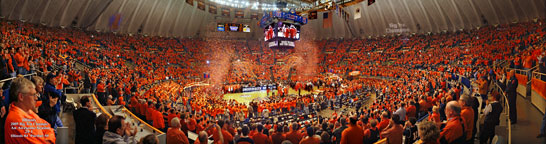 Assembly Hall, Illinois vs. Purdue 2005 Celebration