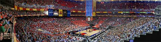 2005 Final Four Semi-Final Panorama