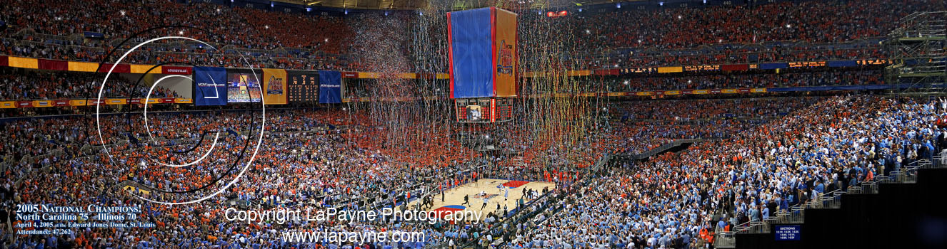 Final Four 2005 Celebration Panorama