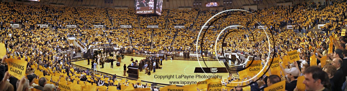 Gene Keady's Final Game at Mackey Arena 2005