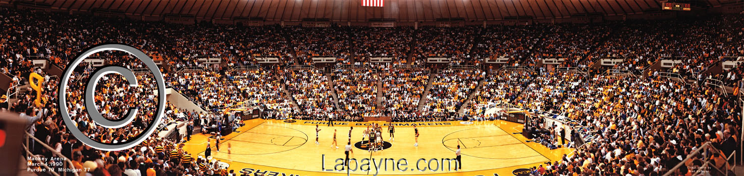 Purdue vs. Michigan 1990 at Mackey Arena
