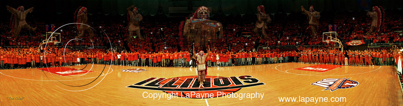 Chief Illiniwek 2005 Panorama