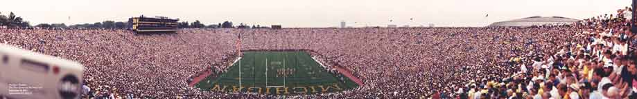 Michigan Stadium 1991