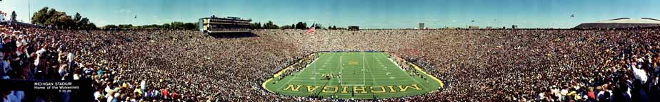 Michigan Stadium 1989