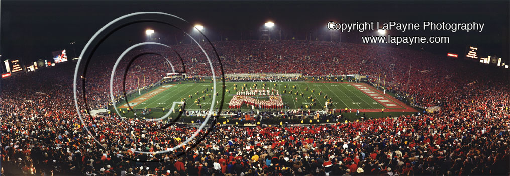 Rose Bowl 2002 - Nebraska Band