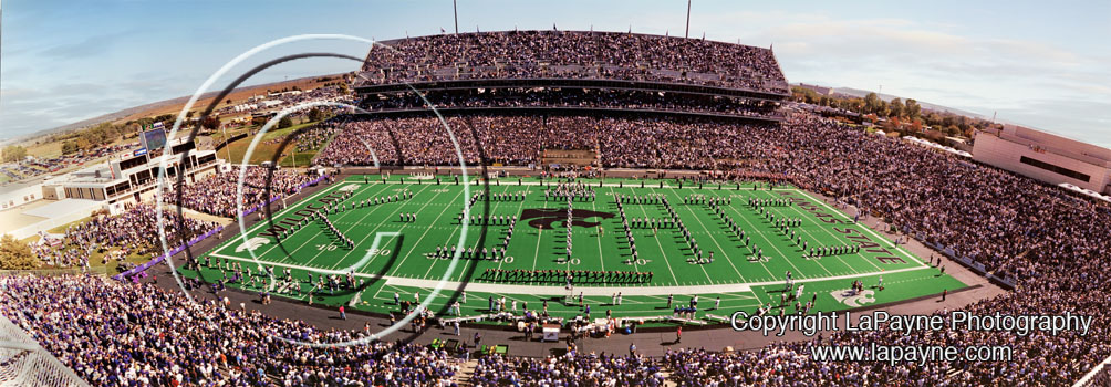 Kansas State Band Panorama 1999