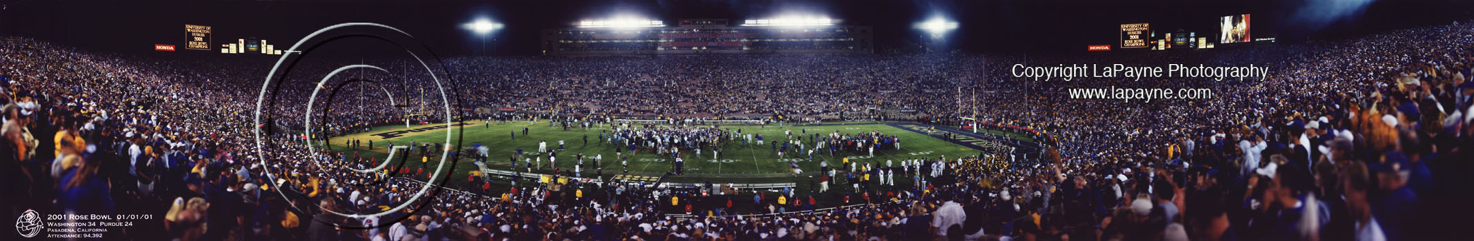 Rose Bowl 2001 - Celebration photo