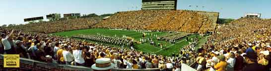 Iowa Throwback Game 2004 Panorama