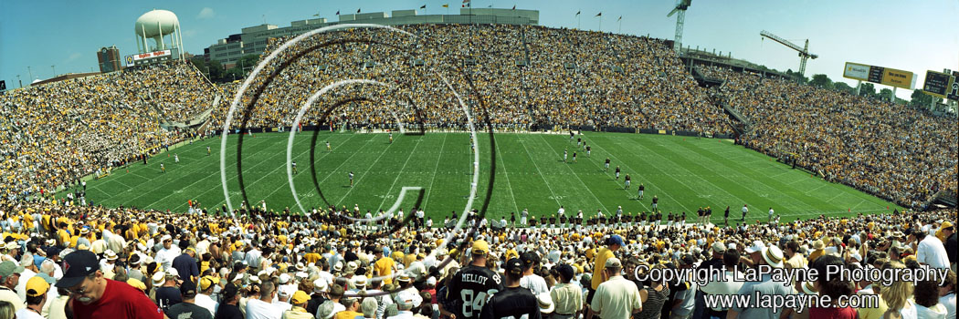 Iowa Throwback Game 2004 Kickoff #2