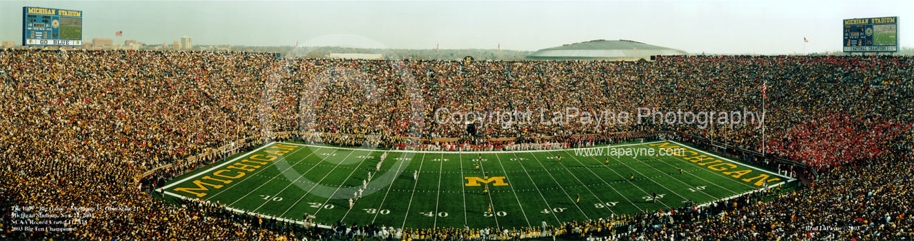 Michigan: 100th Big Game 2nd Half Kickoff