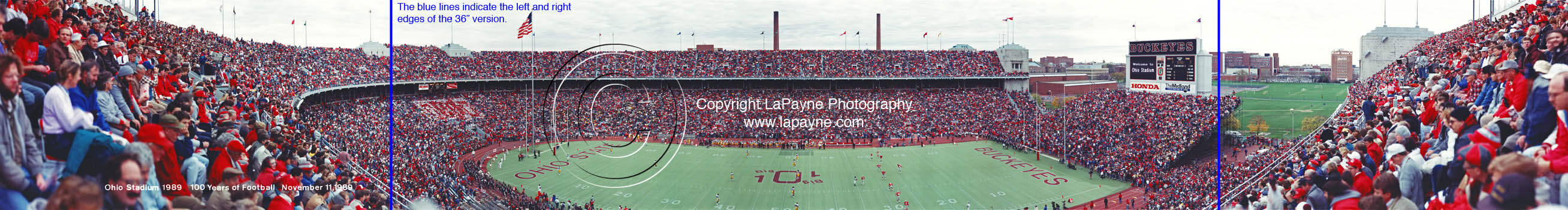Ohio Stadium 1989 Columbus Ohio
