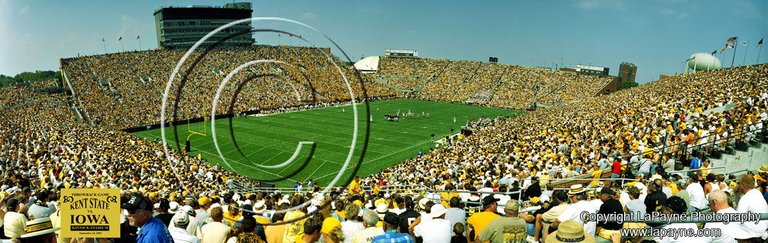 Iowa Throwback Game Panorama