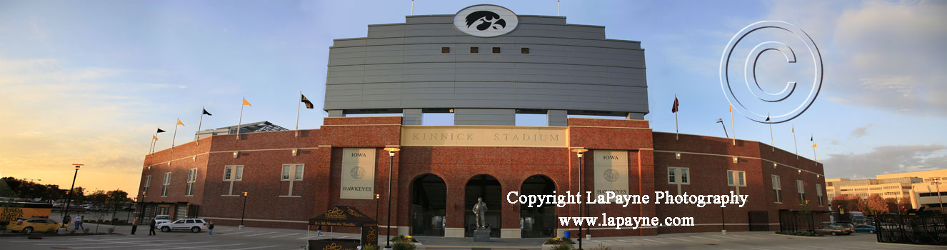 Kinnick Stadium Exterior, Iowa City